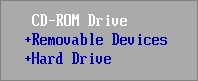 Настройка загрузки компьютера с диска