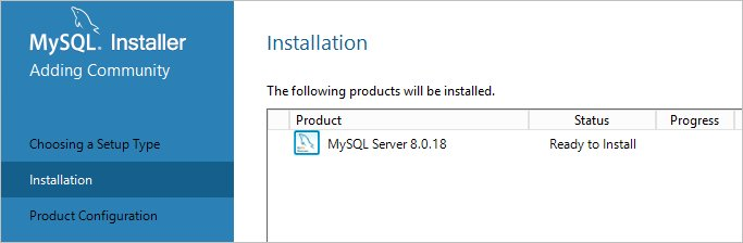 Все готово для установки MySQL на Windows