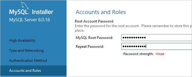 Вводим новый пароль для пользователя root