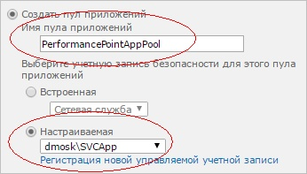 �������� ���� ��� ����������-������ PerformancePoint