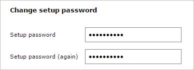Вводим дважды пароль после установки PostfixAdmin