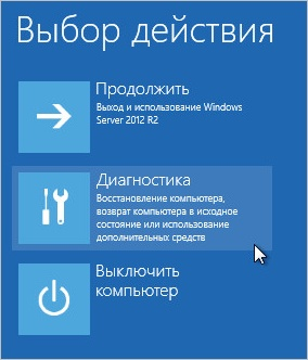 ������ �������������� ������� ��� Windows Server 2012